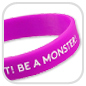 Silikonarmband Monster