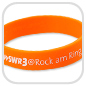 Silikonarmband SWR3-Rock-am-Ring