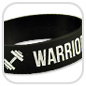 Silikonarmband Warrior